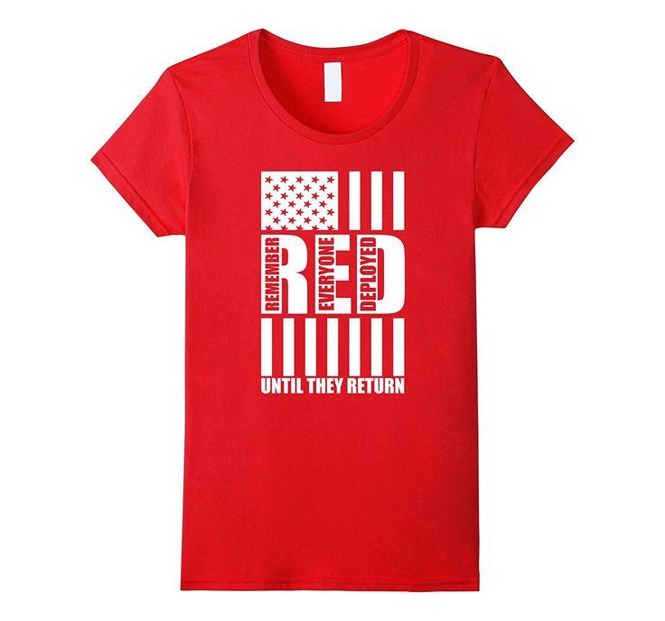 RED Friday Shirt: Remember Everyone Deployed