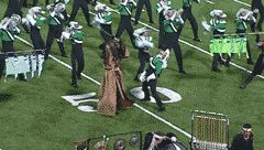 """Still one of the greatest visuals in Drum Corps history. The Cavaliers-""""Samurai (2008)"""""""