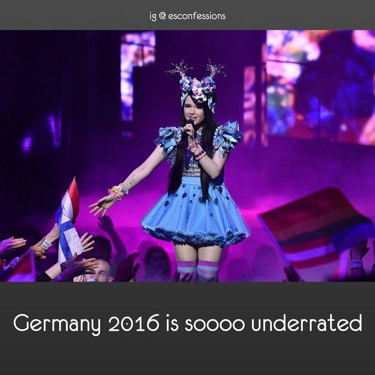 #escgermany #germany #jamielee #jamieleekriewitz #esc2016 #eurovision2016 #eurovision #eurovisionsongcontest • Admin's opinion: I agree