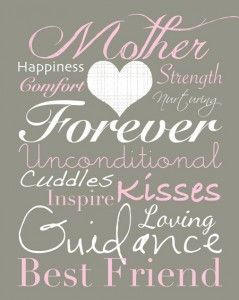 Mothers Day Subway Art: Printable, Mom Blog, Subway Art, Mothers Day Gifts, Mothersday, Gifts Ideas, Mothers Quotes, Be A Mothers, Projects Life