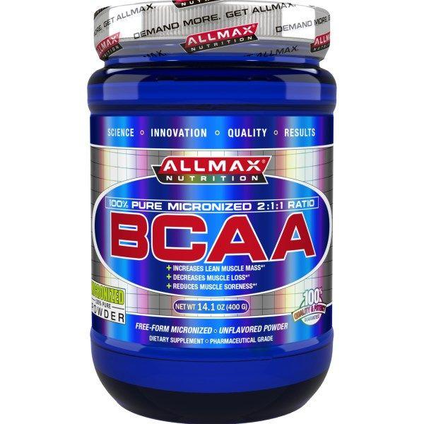 ALLMAX Nutrition, BCAA, Unflavored Powder, 14.1 oz (400 g)