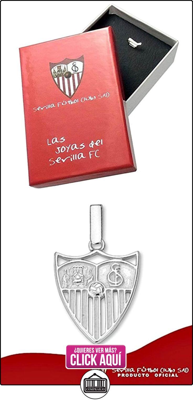 Colgante escudo Sevilla FC plata de ley liso 18mm. calado [8552]  ✿ Joyas para mujer - Las mejores ofertas ✿ ▬► Ver oferta: https://comprar.io/goto/B00WEVX8HA