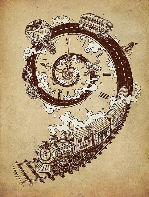 Time Travel by enkel dika, via Flickr