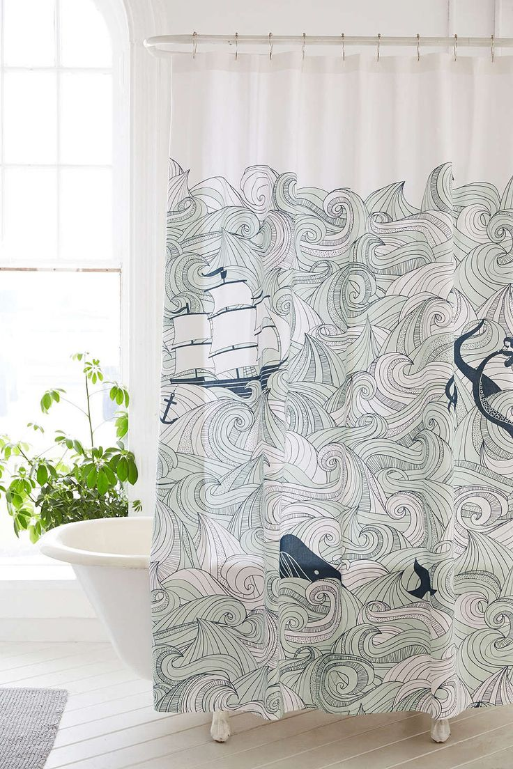 Cool shower curtains for kids - Odssey Shower Curtain