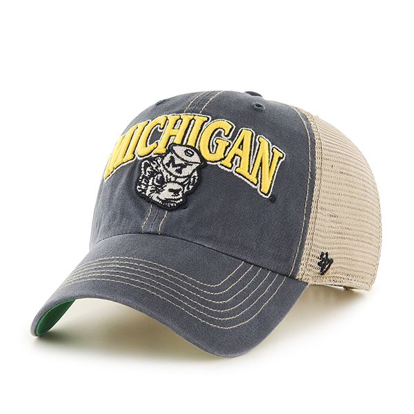 new product 35f61 a15f0 ... cheap michigan wolverines 47 brand tuscaloosa vintage clean up  adjustable hat michigan wolverines hats pinterest michigan