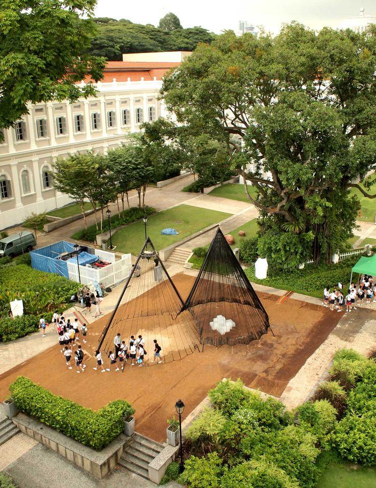 Aldworth James & Bond   Future Memory Pavilion, Singapore Archifest