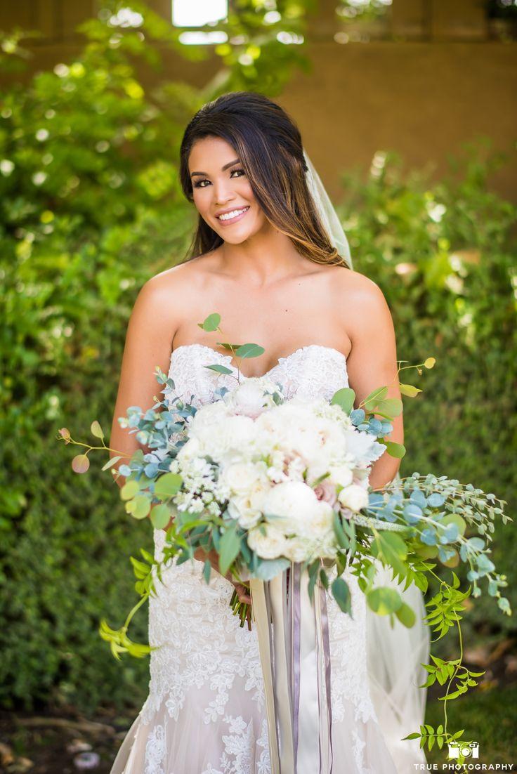 Bride and ring bearer   Bride, Strapless wedding dress