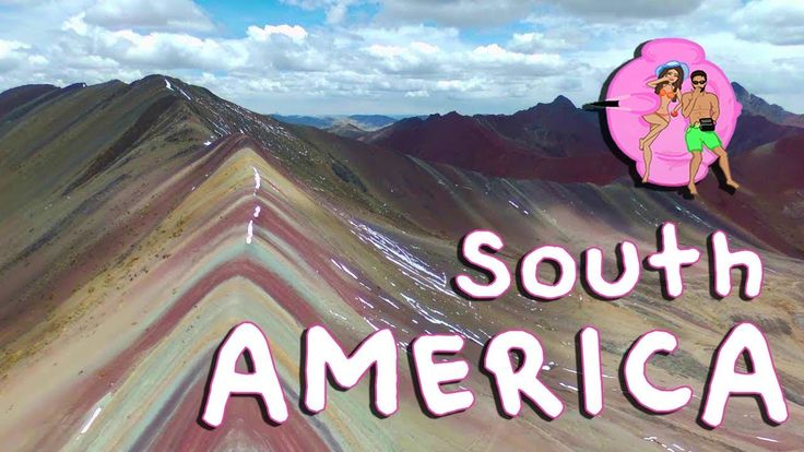 """South America from the sky - Honeymoon Drone video with """"besos"""" dronies"""