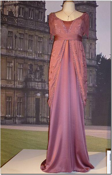 Downton Abbey Season 1 Fashion: Lady Edith Crawley