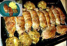Brassói göngyölt hús