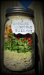 Rainy Day Food Storage: Meals In Jar Recipes  Lots of nice recipes here for jar meals