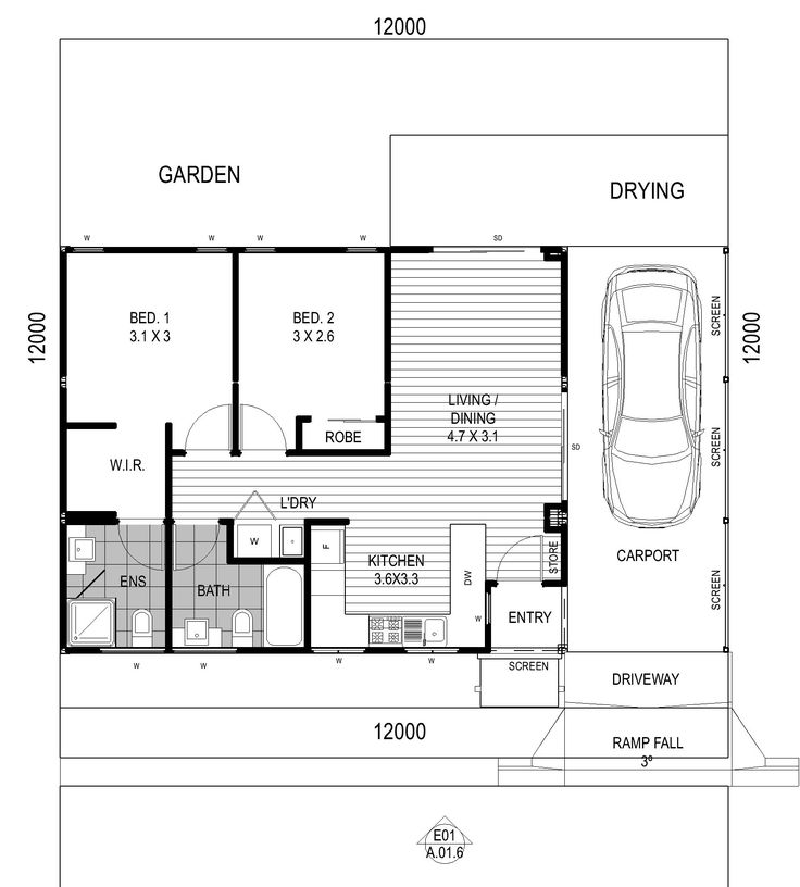 2 bedroom one story house plans amazing house plans