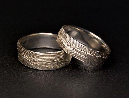 Partnerringe silber matt schlicht  Die 25+ besten Ehering platin gold Ideen auf Pinterest | Diamant ...