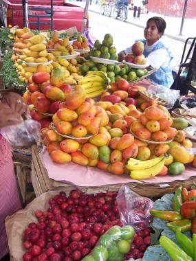Market in Mexico - I miss the mexican market, many diversity fruits and vegetables...