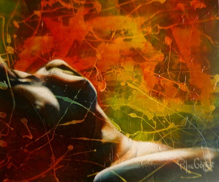 """""""FRESCURA FÈRTIL"""" Tècnica mixta sobre tela de .60 x .50cm. 2014. Exposiciòn Internacional en el MUSEO DE ARTE CONTEMPORÁNEO MAC EN BOGOTA """"ENCUENTROS Y VISIONES """""""