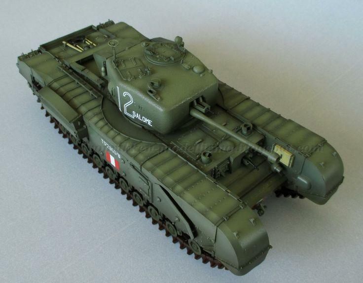 Von Vikken - modellismo statico: Churchill Mk. IV - Painting & Decals #VonVikkenModellismo