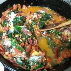 Sauteed Swiss Chard with Parmesan Cheese Allrecipes.com