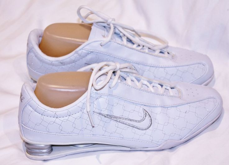 GENUINE NIKE RIVAL SHOX TRAINERS WALKING SHOES WOMENS Size 9 USA WHITE EX RP$200 #NIKE #Trainers