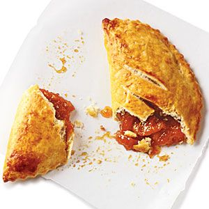 """Peach """"Fried"""" Pie - Click for recipe and to add to Shopper: Lights, Savory Recipes, Cooking Light, Fried Pies, Peaches, Peach Turnover, Peach Fried"""