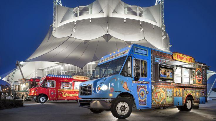 Disney springs is hosting a food truck rally called