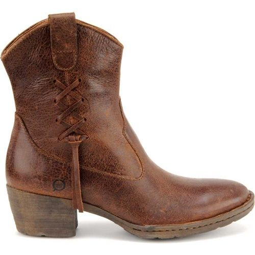 Born Karin Women's Ankle Cowboy Boots Comfy and cute and ...
