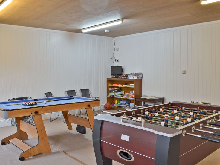 Guests Can Enjoy The Indoor Games Room With Table Football, Small Pool Table,  TV