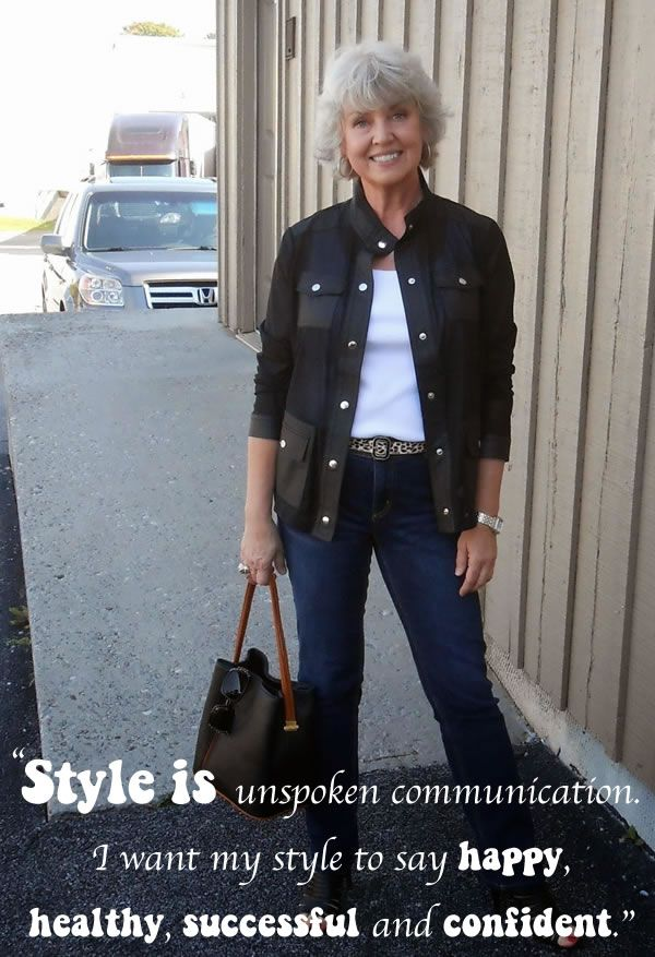 What would you consider the most important components of your style? Well-made jackets, slim leg jeans and always awesome shoes. styleisbysusan2