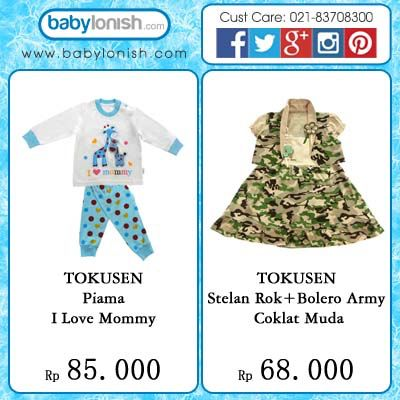 Tokusen baby clothing  SNI approved  Only at www.babylonish.com  Baby girls clothes dress anak perempuan cewek baju pakaian toddler  Baby girls clothes dress anak perempuan cewek baju pakaian toddler