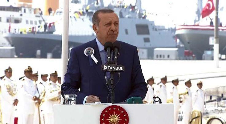 """Erdoğan: Uçak gemisi yapacağız  """"Erdoğan: Uçak gemisi yapacağız"""" http://fmedya.com/erdogan-ucak-gemisi-yapacagiz-h46892.html"""