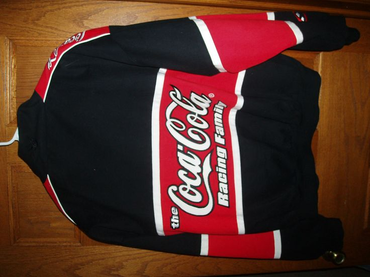 NASCAR Coca Cola Jacket XL--New