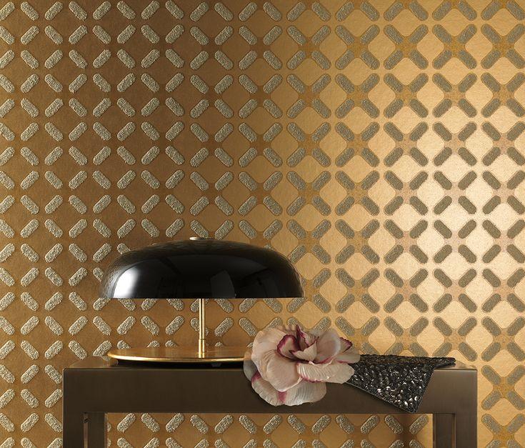 Attrayant Eine Goldene Tapete Mit überraschender Haptik. Hersteller: Marburger  Tapetenfabrik