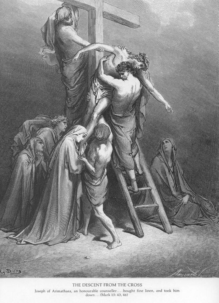 54 painting of the passion of christ   Dore Bible Gallery: Passion of Jesus