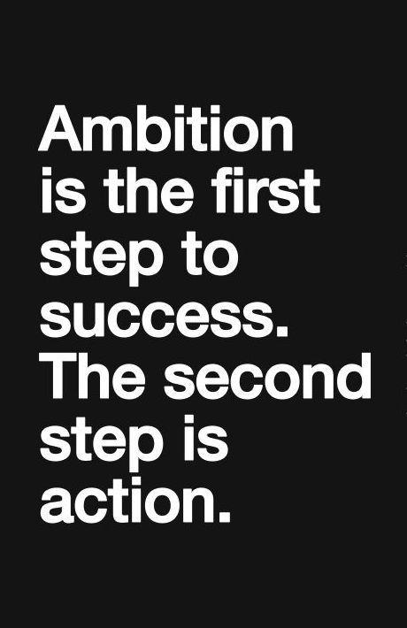 Ambition, Success, Inspiration, Motivation, Quotes www.ShannonOleen.com