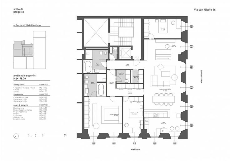 N House | Architecture & Interior Design | Plan | Trieste - Italy | RNDR Studio - www.rndrstudio.it