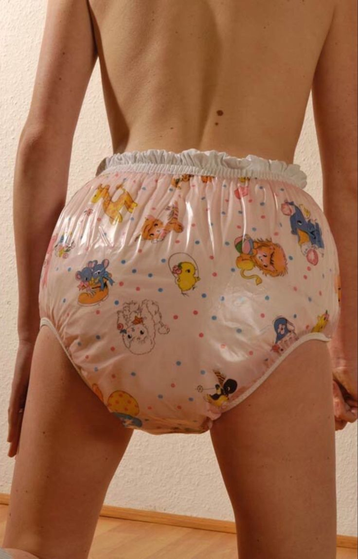 diapered girl pantie plastic Adult