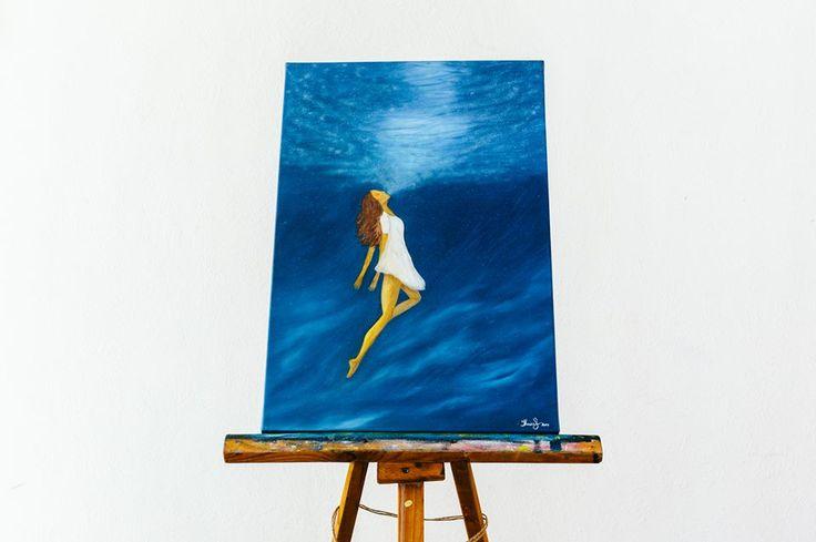 Rise up! by ieva Krivma Art Oil on canvas