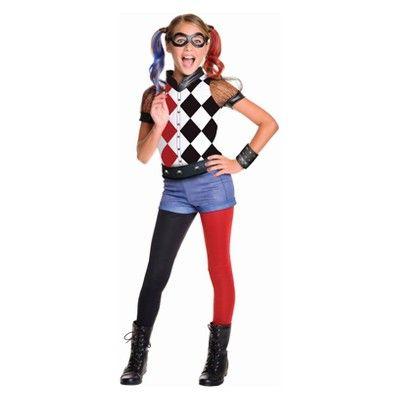 Channel your inner jokester in this DC Super Hero Girls Harley Quinn Costume. Al...