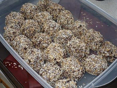 Energy Balls ............................ from Whitewater Cooks