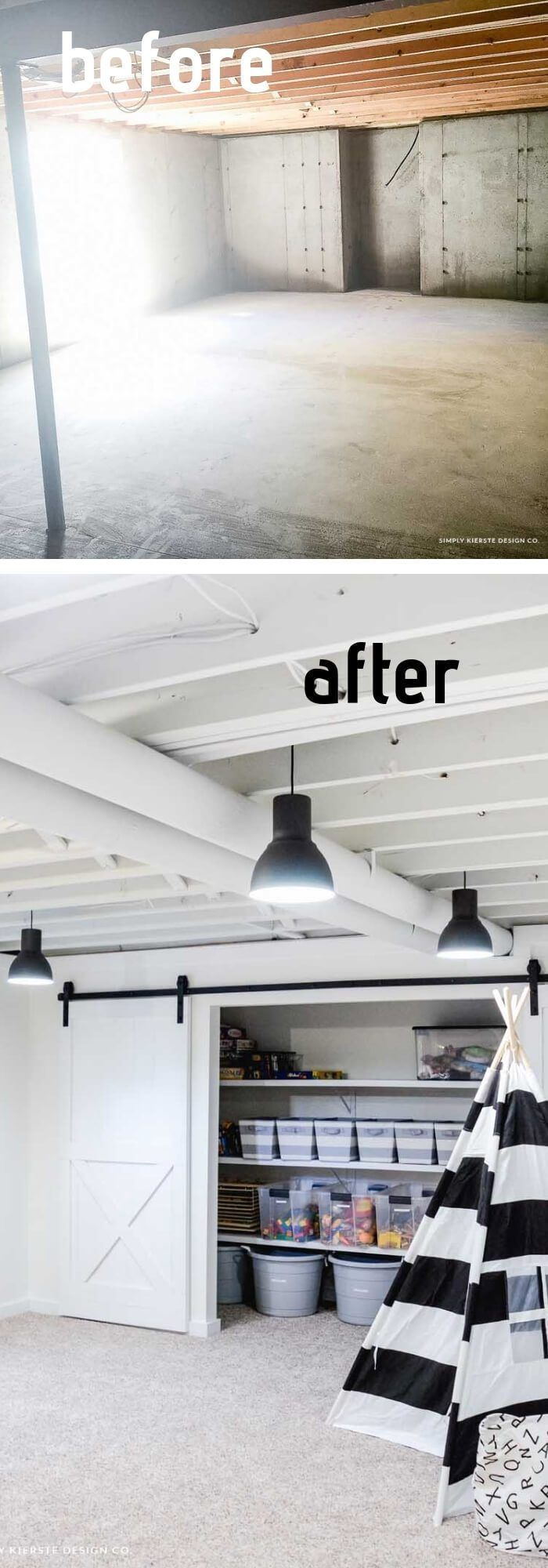 15+ Best DIY Basement Ceiling Ideas & Designs For 2019