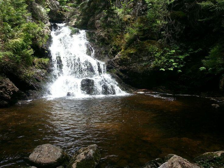 Upper Long Point Falls, Kiersteadville,  NB