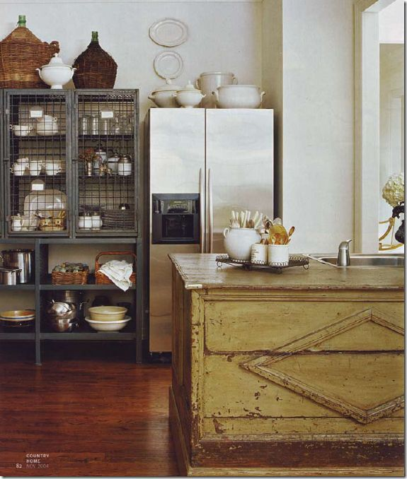 furniture in the kitchen