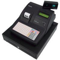SAM4S ER-390M Cash Register w/Flat Key, Thermal Printer Black