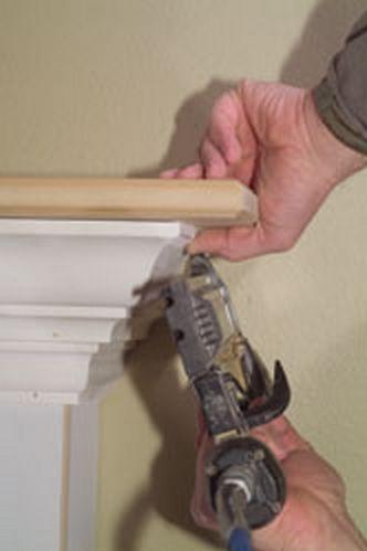 How to Build a Fireplace Mantel from Scratch via www.PortableFireplace.com