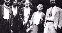 Mary White Ovington and friends