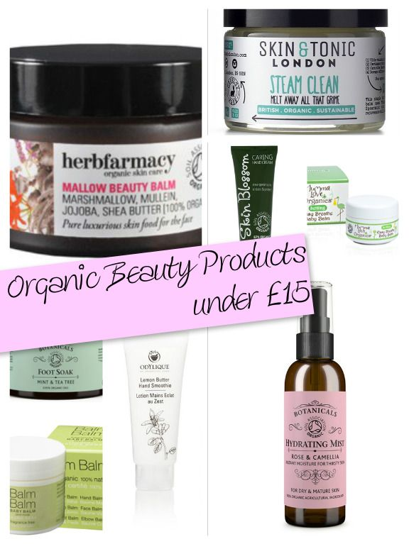 Organic Beauty on a Budget | Amber's Beauty Talk A selection of certified organic brands and products that all cost less than £15 - organic beauty can be budget friendly!