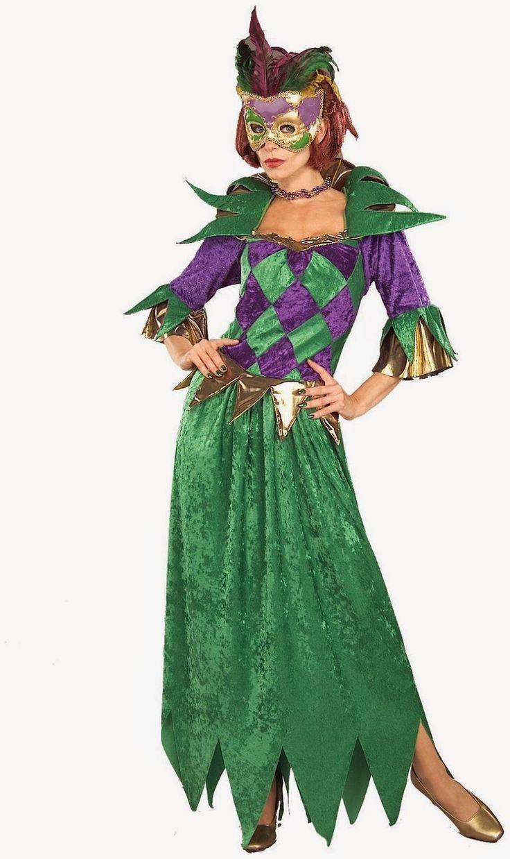 Adult mardi gras costume ideas
