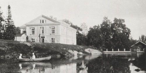Espoonkartano v. 1921. Kuva August Ramsay. Espoon kaupunginmuseo.