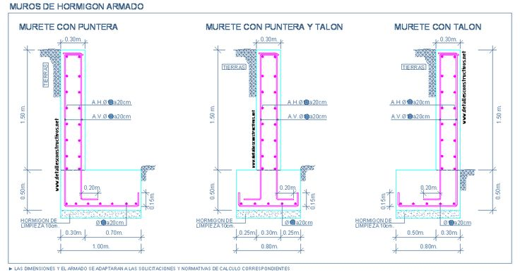 MUROS | detallesconstructivos.net