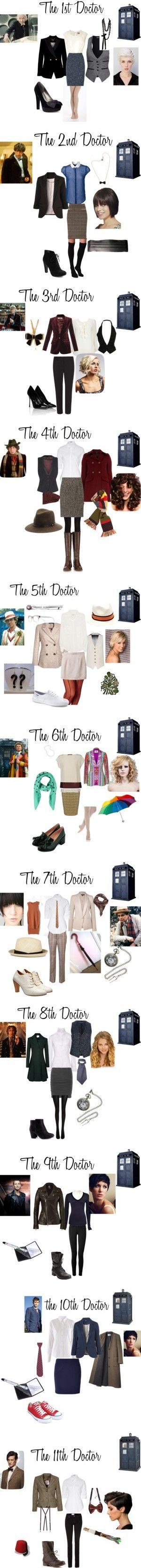 tenues à la doctor who !