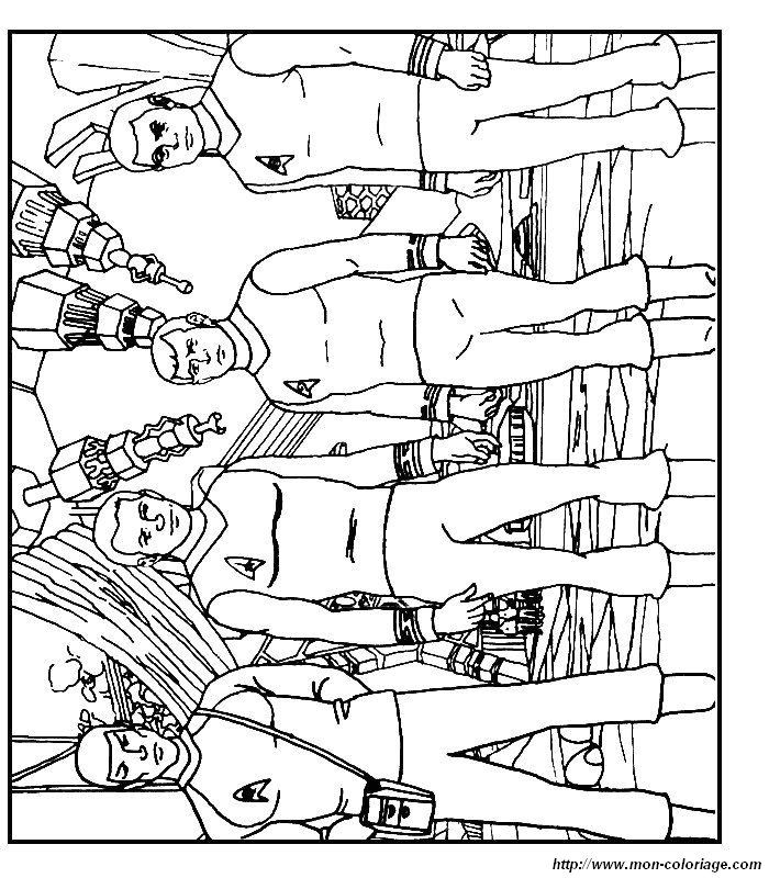 coloring pages star treck - photo#18